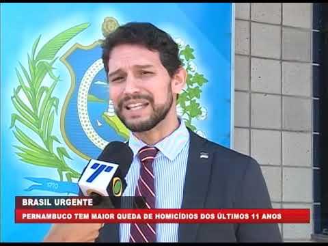 Pernambuco tem em 2018 a maior redução de homicídios desde a criação do Pacto Pela Vida