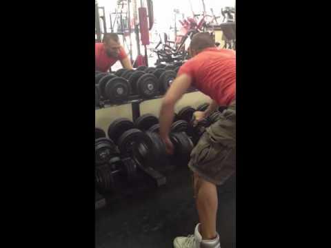 Nathan Lelli Spalle dietro 40kg