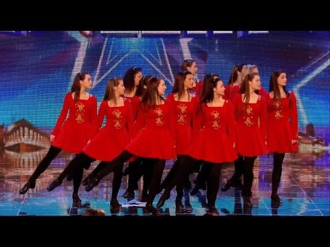 Britain's Got Talent S08E03 Innova adds a new twist to Irish Dance