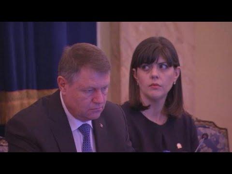 Chef-Korruptionsermittlerin Rumäniens Laura Kövesi en ...