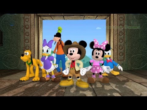 Mickey Mouse Clubhouse Full Episodes 🌈 Mickey Mouse Clubhouse Quest For the Crystal Mickey Games 45