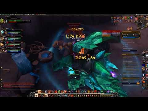 World of Warcraft: Neltharions Hort - Mythic 15 (Affixe: Tyrannisch, Anstachelnd und … видео