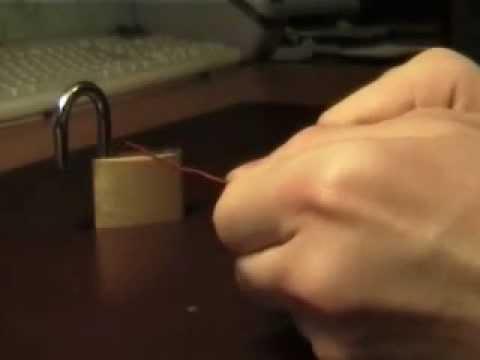 come aprire un lucchetto nel caso aveste smarrito le chiavi