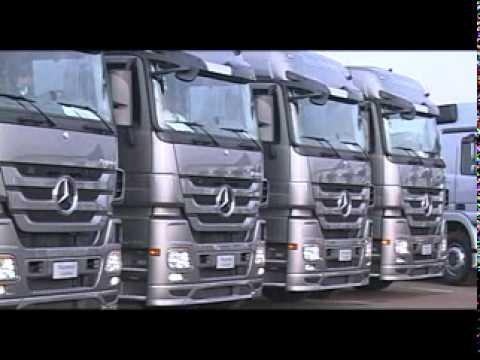 Грузовики Mercedes-Benz Actros