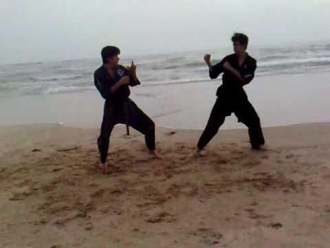 lima lama - Entrenando en la Playa Miramar en Ciudad Madero 11/Abril/09.