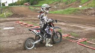 7. Ktm 65 SX 2010 practice
