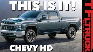 2020 Chevy Silverado HD: You Won't Believe The Way It Looks! by The Fast Lane Truck