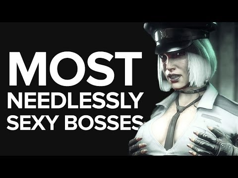 The 6 Most Needlessly Sexy Bosses in Games