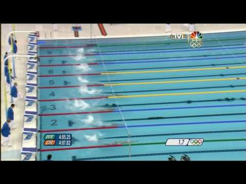1st Gold 2008 Beijing Olympics Swimming Men's 400m Medley