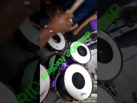 How To Play African Worship On Drums By Natdegreat