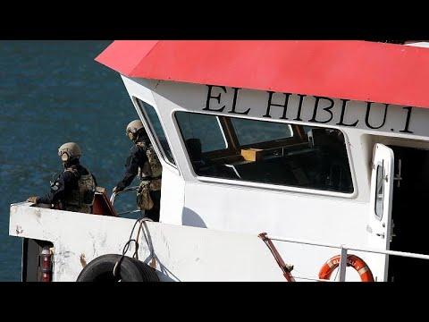 Μετανάστες κατέλαβαν πλοίο για να φτάσουν στην Ευρώπη