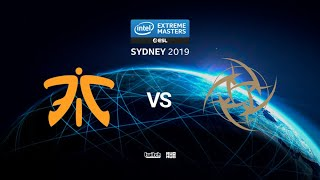 fnatic vs Nip - IEM SYDNEY 2019 - map3 - de_dust2 [MintGod & ceh9]