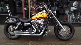 9. 2009 HARLEY-DAVIDSON DYNA FXDWG WIDE GLIDE @ West Coast Harley-Davidson, Glasgow, Scotland