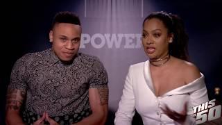 "Lala & Rotimi Speak on Power Season 4 - ""A lot of People Get Killed"""