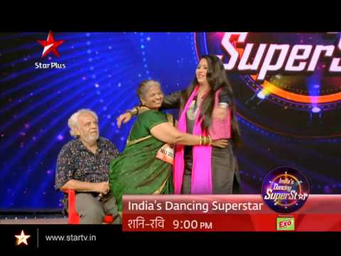 Nardi Parekh performs for her husband on India's Dancing Superstar