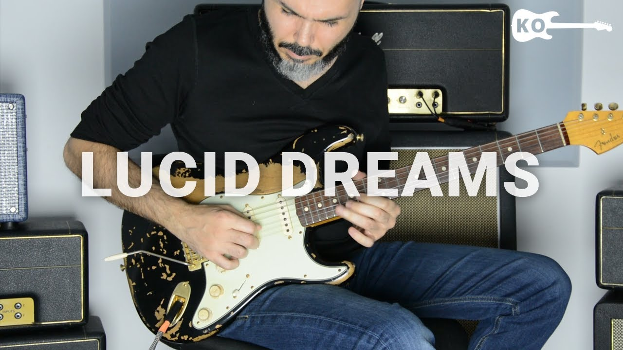 Juice WRLD – Lucid Dreams – Electric Guitar Cover by Kfir Ochaion