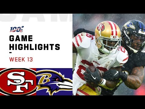 49ers vs. Ravens Week 13 Highlights  NFL 2019