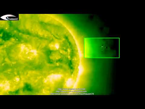 UFOs and Anomalies near the Sun – Review of © NASA images March 19, 2013