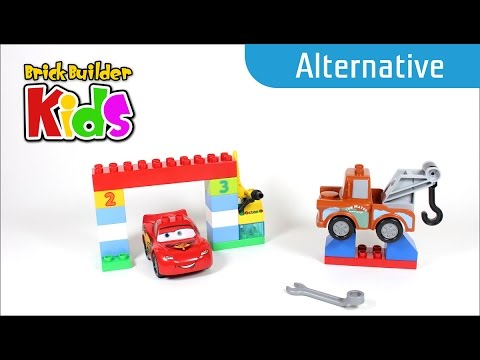 Vidéo LEGO Duplo 10600 : La course classique Disney Pixar Cars