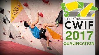 CWIF 2017 Qualification Highlights by OnBouldering