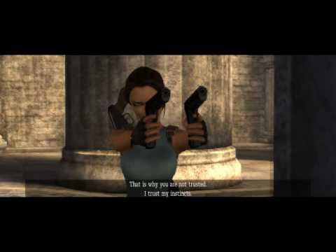 Tomb Raider Anniversary Walkthrough part 8 :Greece 1/11