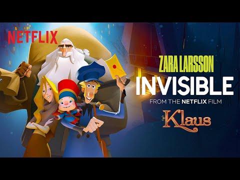 Zara Larsson 'Invisible' Official Lyric Video (Klaus) | Netflix Futures