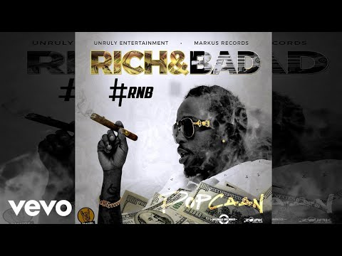 Video Popcaan - Rich & Bad [#RnB] (Official Audio) download in MP3, 3GP, MP4, WEBM, AVI, FLV January 2017
