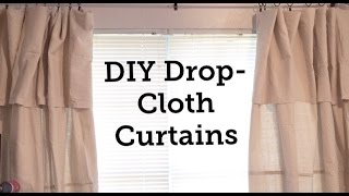 Hey guys so I attempted drop cloth curtains and while there are a few tweaks I want to make I'm really loving the look of them! Check out my pictures on my IG feed! @Karena_MyLifeanother great tutorial, check out jillian! https://www.youtube.com/watch?v=RUnnx19PH9YThanks for watching!