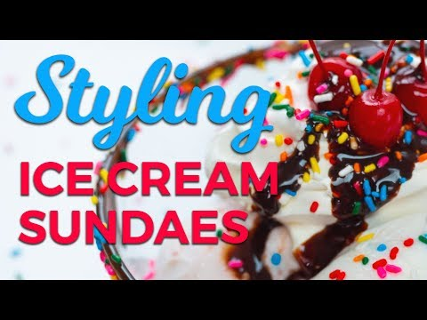 Styling the Sweetest Ice Cream Sundae: Plate It Perfect