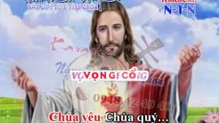 Karaoke THANH CA VC- NIEM DAU CUA CHUA (DAY DAO)
