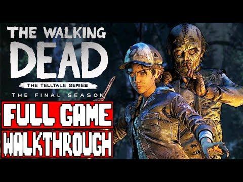 THE WALKING DEAD TELLTALE SEASON 4 Episode 2 Gameplay Walkthrough Part 1 FULL GAME - No Commentary (видео)