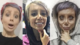 Video What's Going On With Sahar Tabar's Angelina Jolie Plastic Surgery? | What's Trending Now! MP3, 3GP, MP4, WEBM, AVI, FLV Agustus 2018