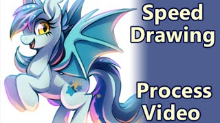 My deviantART: http://kawiku.deviantart.com/Video is silent, if you want music, please listen to your own, thank you :)Real Time: 44 minutes (speed x10)Paint Tool SAI