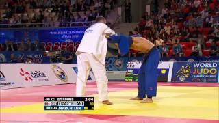 Varlam Liparteliani (Georgia) vs Mihail Marchitan (United Arab Emirates) World Judo Championships 2015Judo - 90kg
