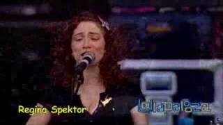 Regina Spektor - Bobbing for Apples (Lollapalooza 2007)