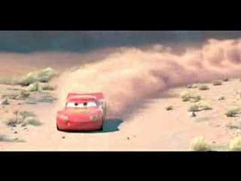 Cars: The Race With Doc Scene