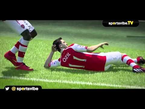 FIFA15 Sims: Arsenal vs Tottenham (Premier League Gameweek 6)
