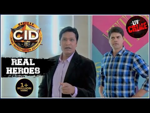 Deadly Spider   C.I.D   सीआईडी   Real Heroes