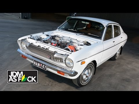 VG30 turbo Datsun sleeper ~ JDM as F_CK
