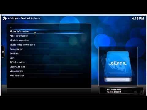 [HOW-TO] Watch NFL Game Pass/Rewind using XBMC 13 / Kodi 14  [09-2014] [Win7]
