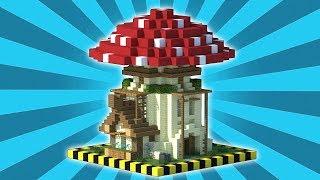 MINECRAFT : Survival House Tutorial - Cara Membuat Rumah Survival