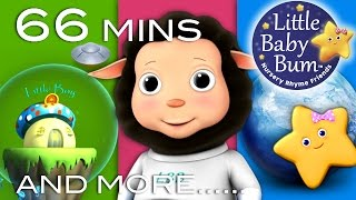 Video Baa Baa Black Sheep | Plus Lots More Nursery Rhymes | 66 Minutes Compilation from LittleBabyBum! MP3, 3GP, MP4, WEBM, AVI, FLV Juli 2019