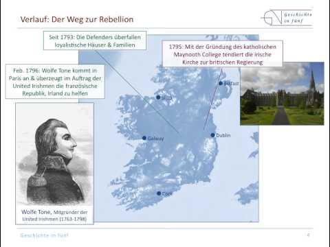 Die Irische Rebellion von 1798 gegen die englische  ...