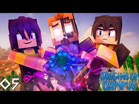 Origins of Olympus #5 - THREE CHILDREN of DEATH! (Percy Jackson Minecraft Roleplay)