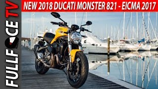 9. NEW 2018 Ducati Monster 821 Specs and Review - EICMA 2017