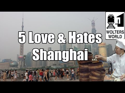 Shanghai - http://www.woltersworld.com Shanghai, the driver of Chinese commerce and the wealthiest city in China. Also, a very cool city for travelers. It is very moder...