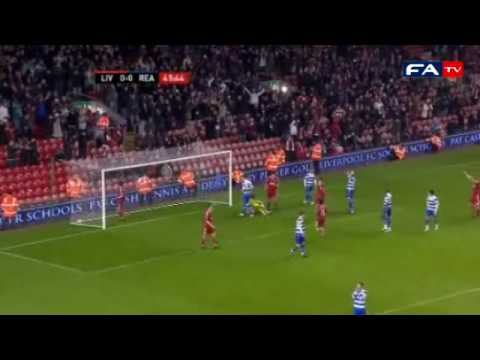 Liverpool 1 - Reading 2 - 2010 FA Cup Third Round