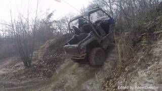 8. yamaha wolverine real review at the Badlands pt1