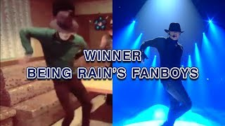 [FUNNY] WINNER BEING RAIN'S FANBOYS