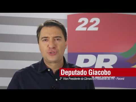 Em Coronel Domingos Soares (PR) é Valdir e Marly 11 nas eleições municipais 2008 apoia Giacobo.